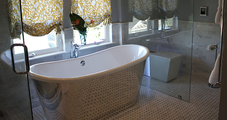 Houston Heights Master bathroom remodel
