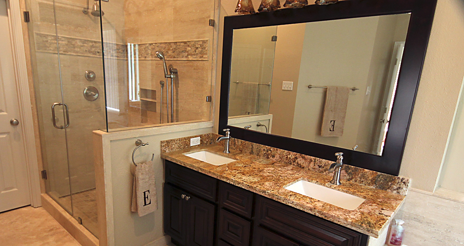 master bathroom remodell in Cypress TX