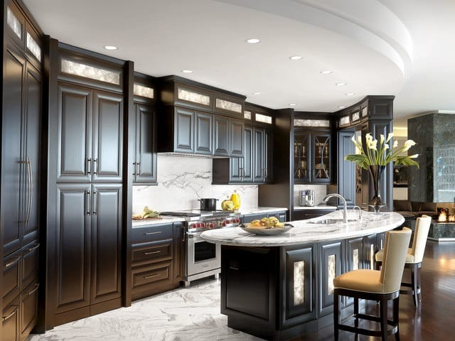 Kitchen Countertops by Unique Builders