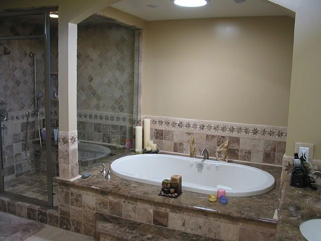 Bathroom remodeling gallery project portfolio for Bathroom remodel 77084