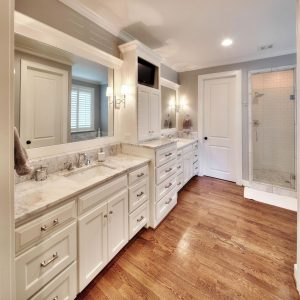 Master Bathroom White