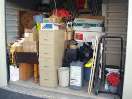 messy storage unit