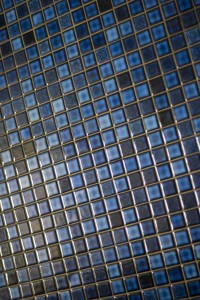 moasic tile floor