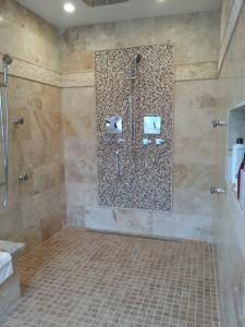 bathroom makeover by UBtexas