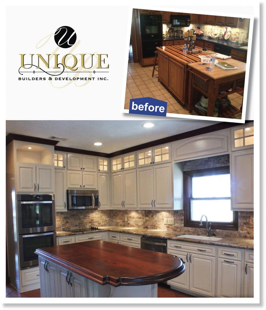 before & after kitchen design