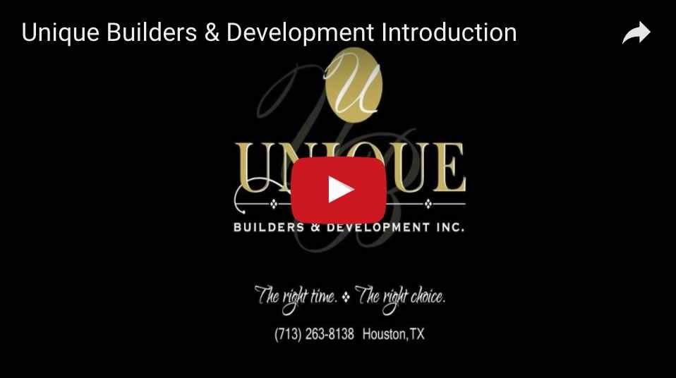 Unique Builders of Texas - Intro-Video