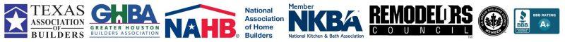 Unique Builders & Development - Association Logos