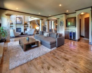 Living room - Unique Builders & Development, Inc.