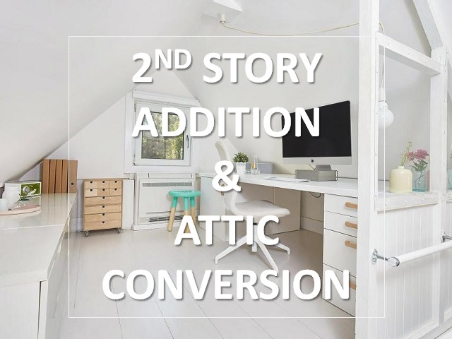 2nd Story Addition & Attic Conversions Remodeling Houston