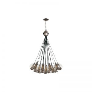 Caviar 18-Light Cluster Pendant by Arteriors. joss and main