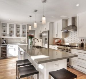 Contemporary Kitchen Renovation Houston