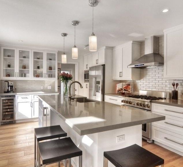 Contemporary Kitchen Renovation Houston