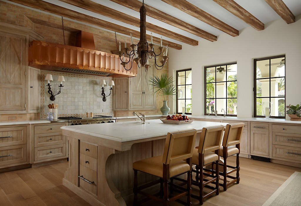 Mediterranean Kitchen Renovation Houston