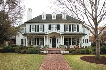 Colonial Custom Home Builder in Houston