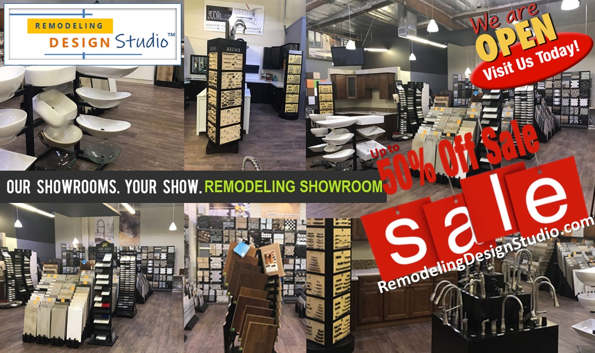 Remodeling Design Studio - Home Remodeling Showroom in Houston - OPEN - 50% OFF SALE