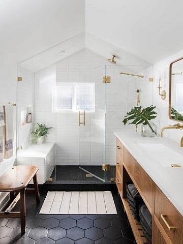 Attic Conversion Houston - Attic Bathroom
